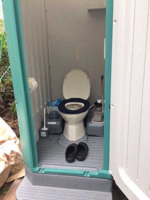 様式トイレです。綺麗に使いましょう