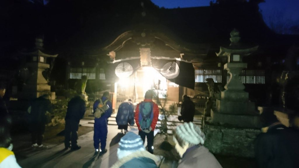 一宮神社で初詣