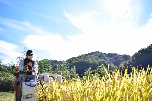農機体験イメージです